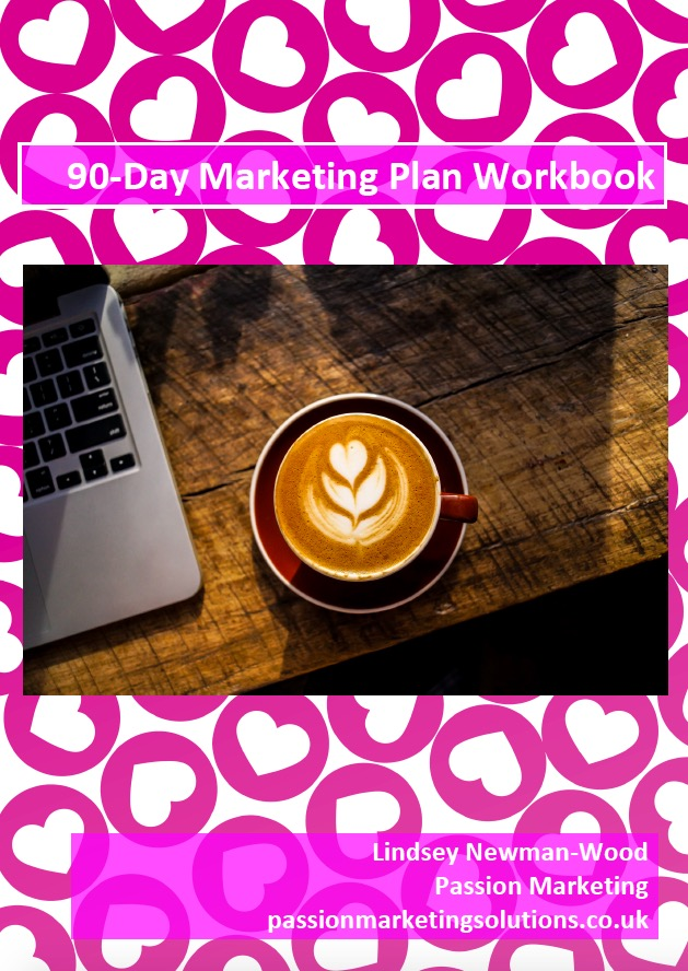 90 day marketing plan cover Passion Marketing